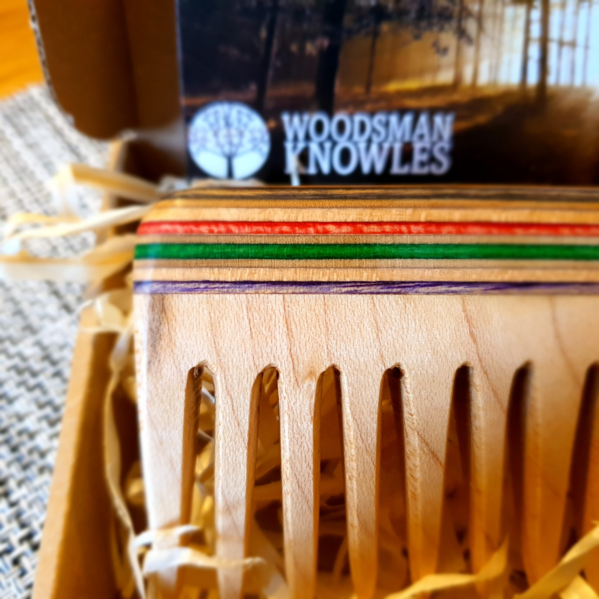 Woodsmanknowles Beard Comb-Probably The No1 Best Handmade Beard Comb Available 1