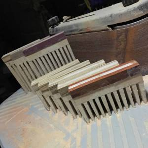 WoodsmanKnowles Handmade Beard Comb